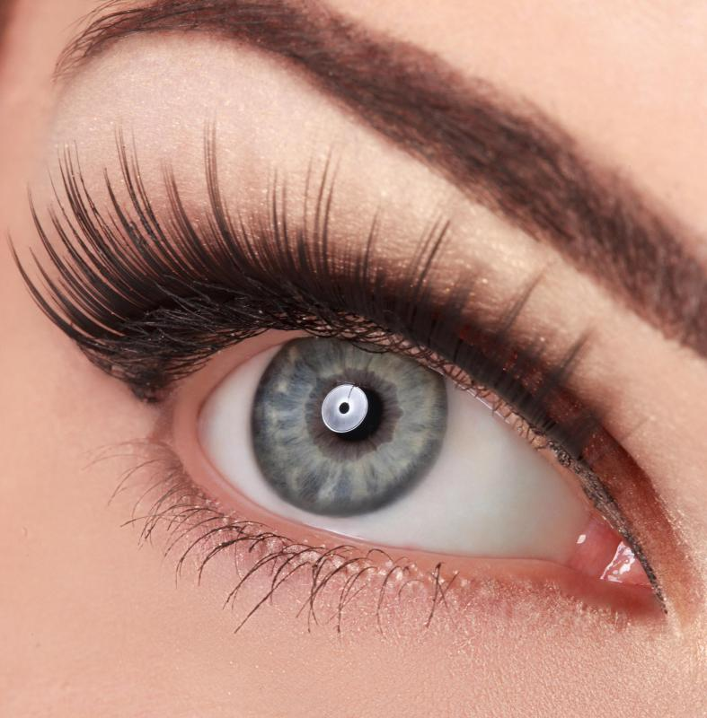 Waterproof mascara may be difficult to remove with some gentle eye makeup removers.