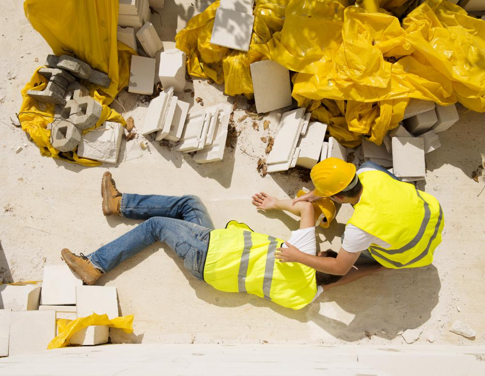 Common physical hazards of the construction industry include falling from high places.
