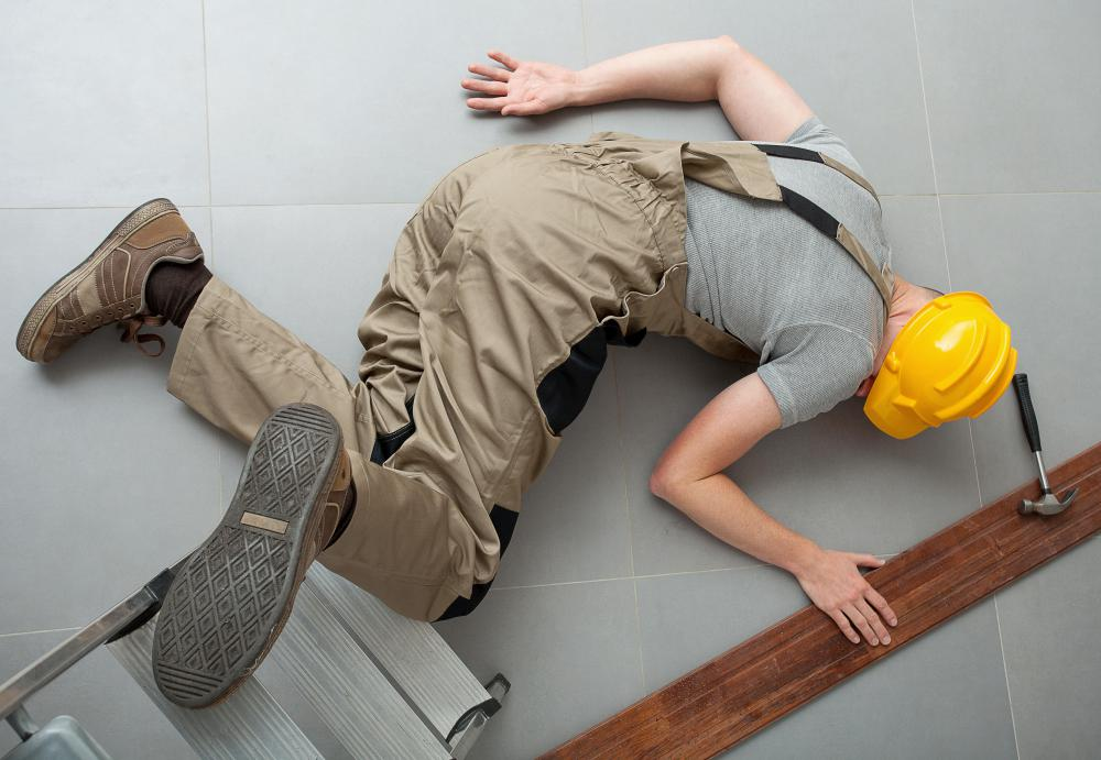 Jurisdiction law is used to determine which court will try a worksite injury suit.