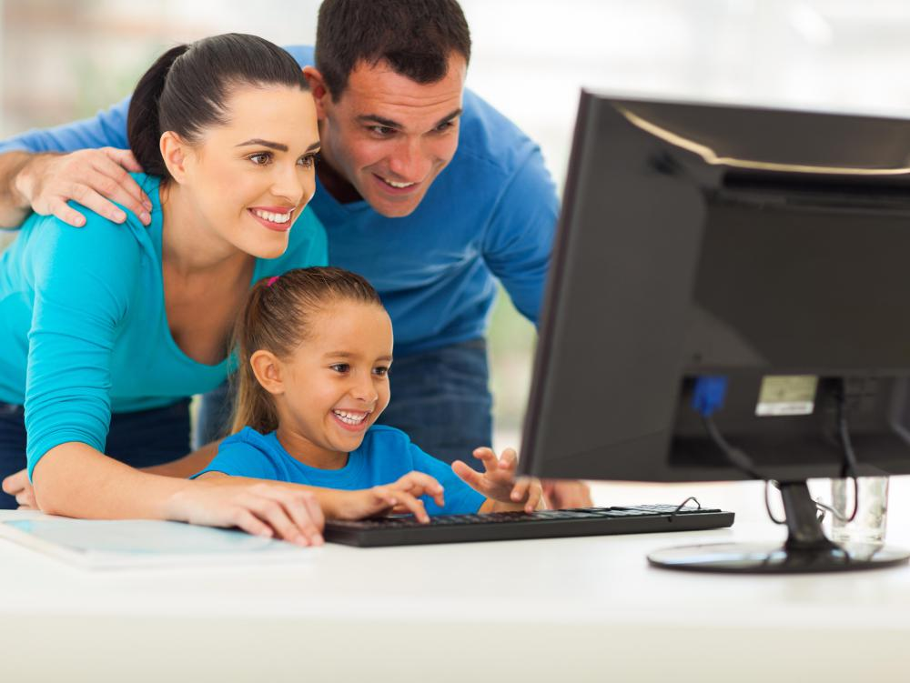 Internet monitoring software can be useful for a family with young kids, as filtering software may not provide complete protection.