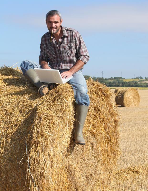 Farm and ranch managers can manage production and finance by computer.