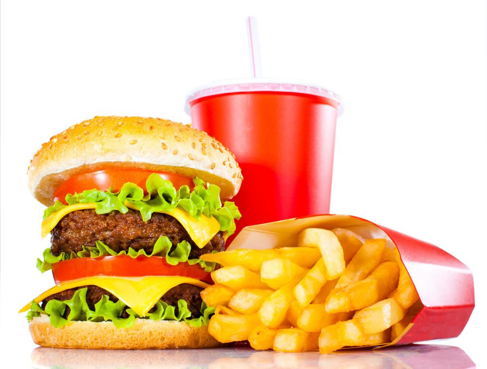 Eating fast food often can lead to weight gain.