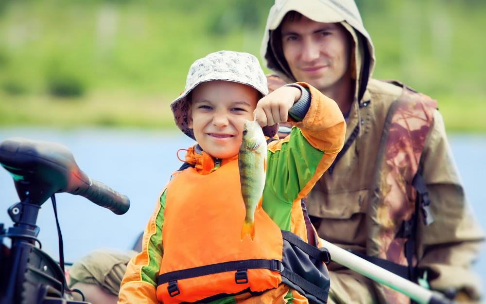 Freshwater fishing at scenic lakes and streams can be a great outdoor activity for families.