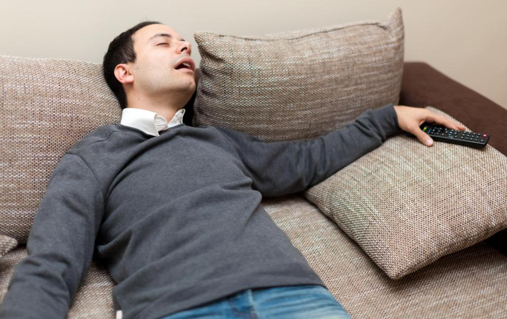 Taking a nap can help a person dealing with eyestrain.