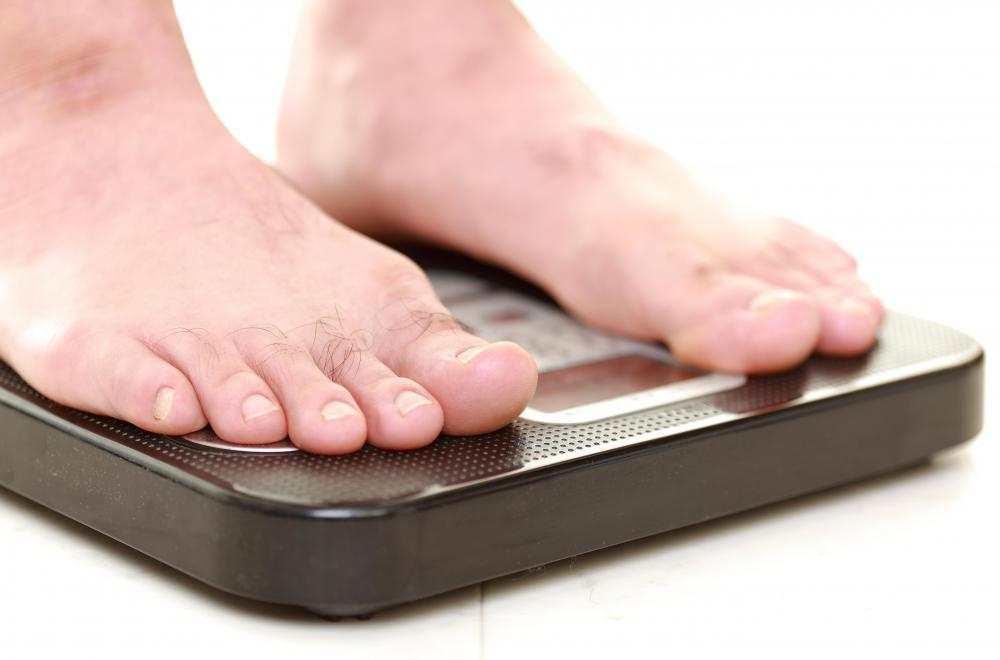 A body wrap may aid in a temporary decrease of excess fluids, leading to weight loss.