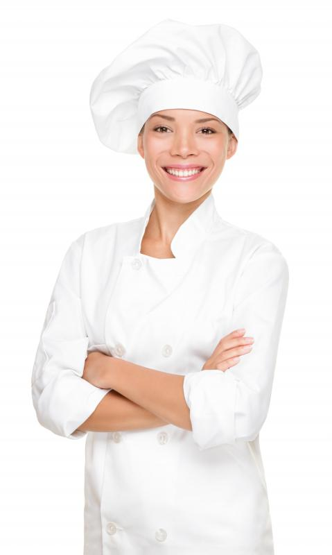 A Chef de Partie, who works with an executive chef.