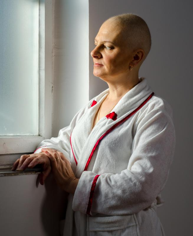 Chemotherapy may be helpful in treating breast cancer.