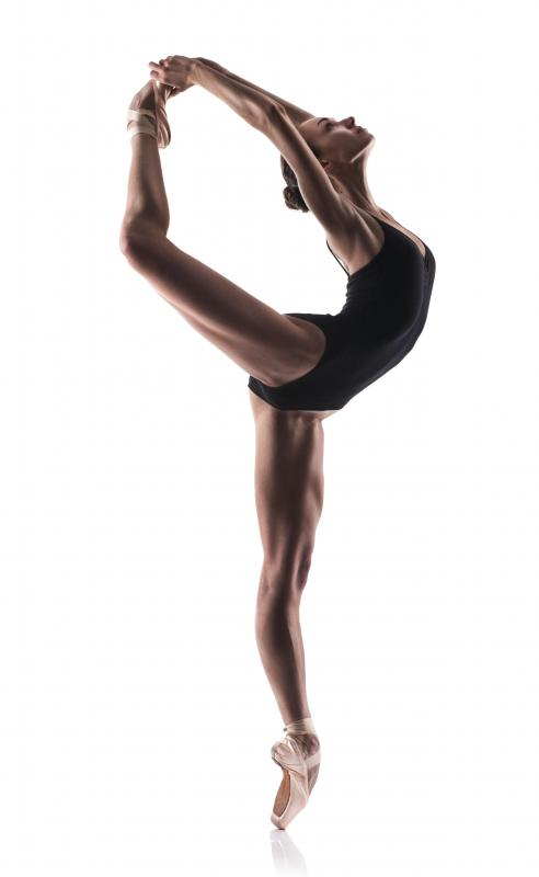 Ballet dancers have strong core stability.