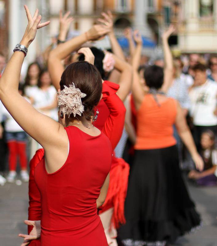 Dance performances are part of the cultural industry.