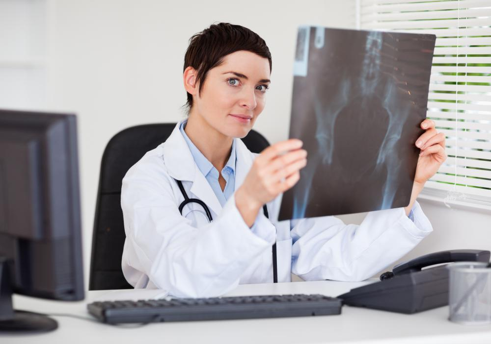 X-rays may be used to diagnose pelvic fractures.