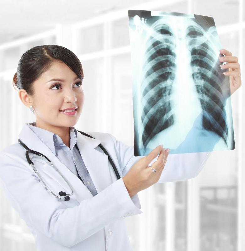Chest X-rays can often detect fluid or other material in the lungs that could contribute to pain or discomfort.