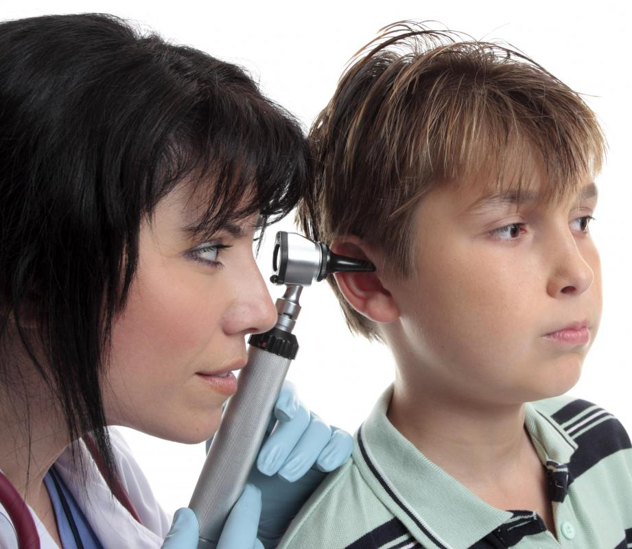 Ear nose and throat doctor called