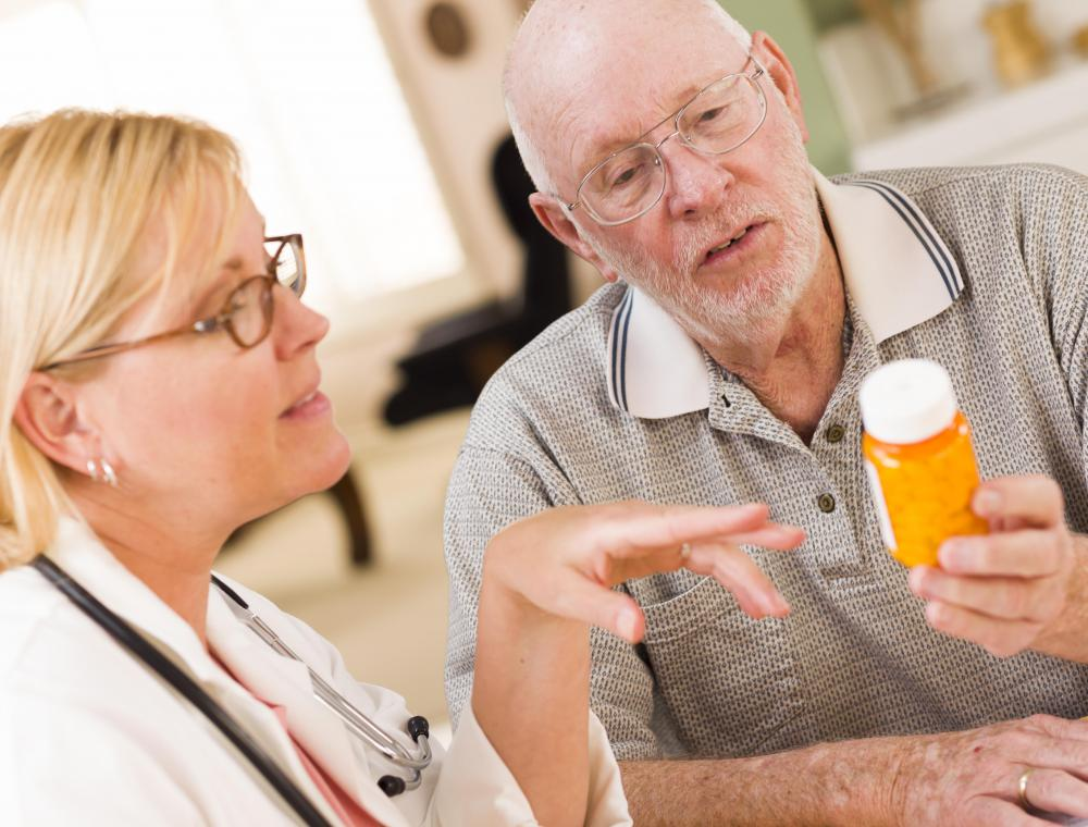 Medication may be used to treat some cases of cognitive impairment.
