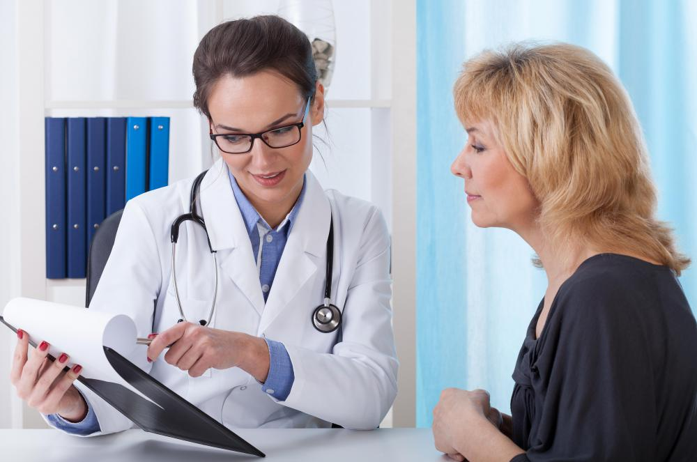 Doctors may record verbal notes during a patient's examination.
