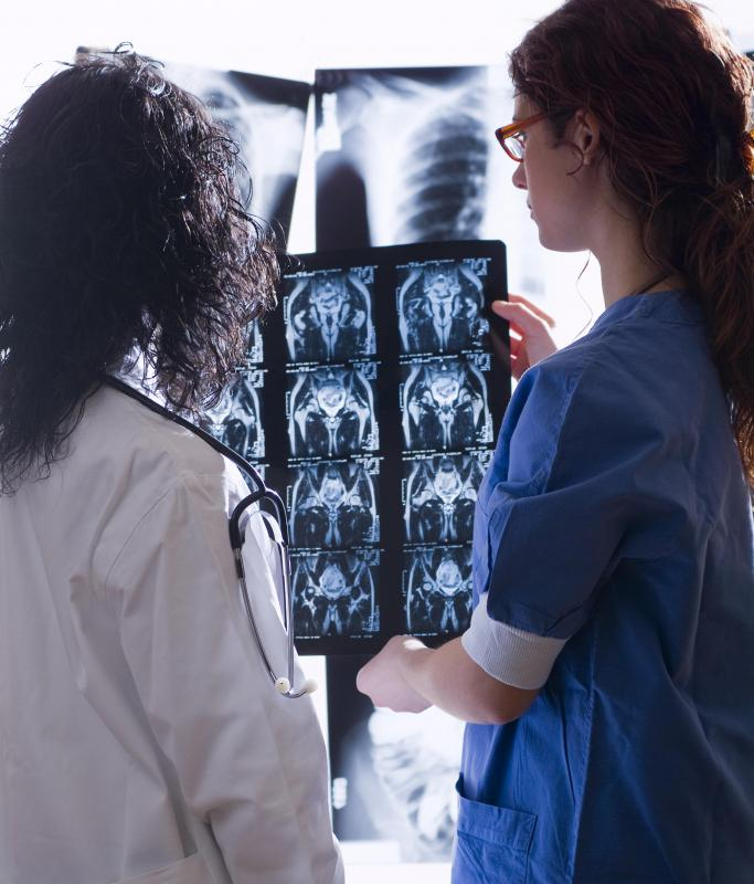 Metastatic bladder cancer may be diagnosed with medical imaging tests.