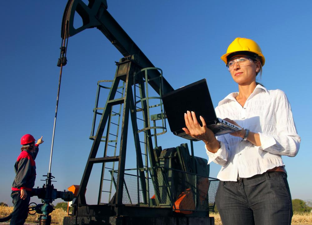Beyond the application of mechanical engineering skills, many petroleum engineers are also involved with writing software that is used to operate oil drilling platforms.