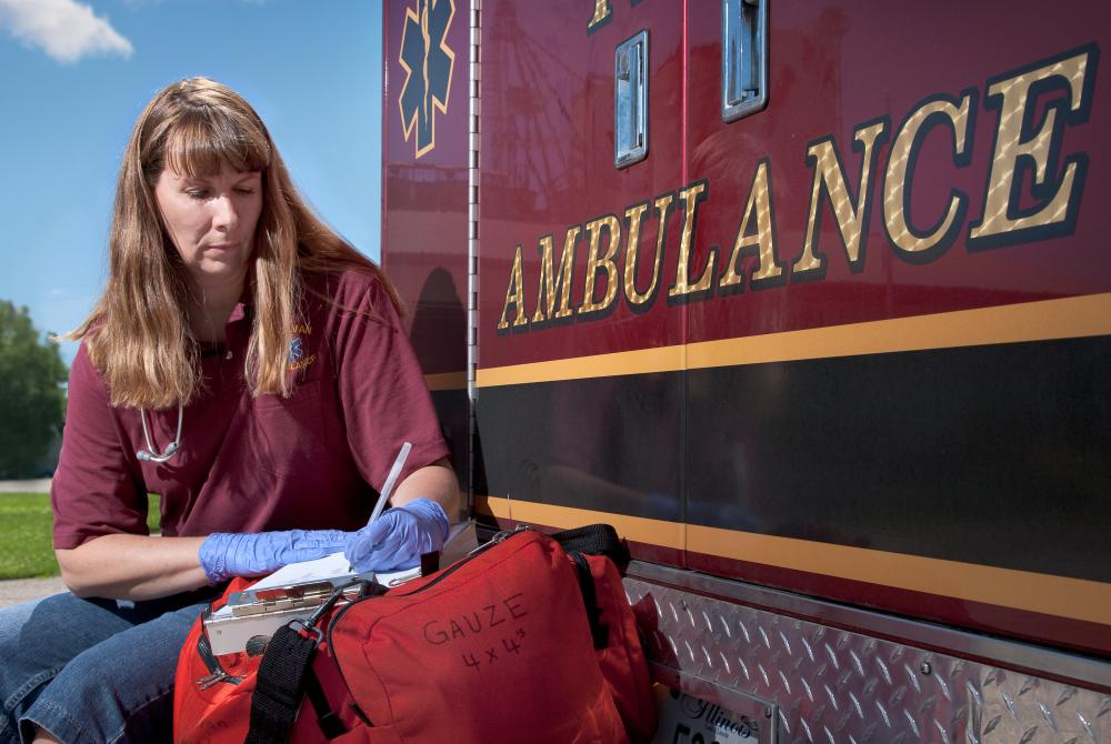 An emergency care assistant will receive ambulance driving training.