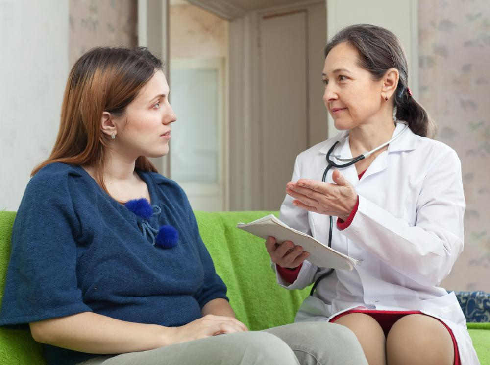 Primary care doctors ask patients questions about their symptoms and conduct physical exams.