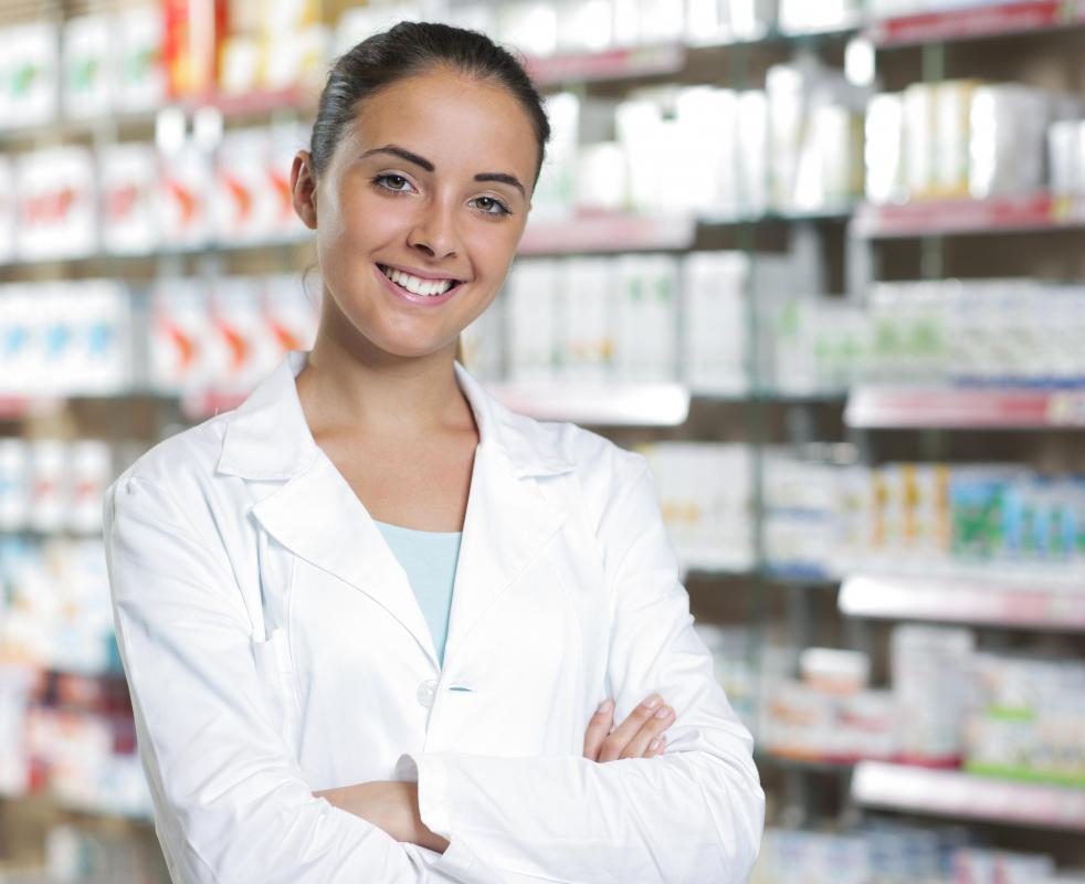 A full-service pharmacy may be part of a hypermarket.