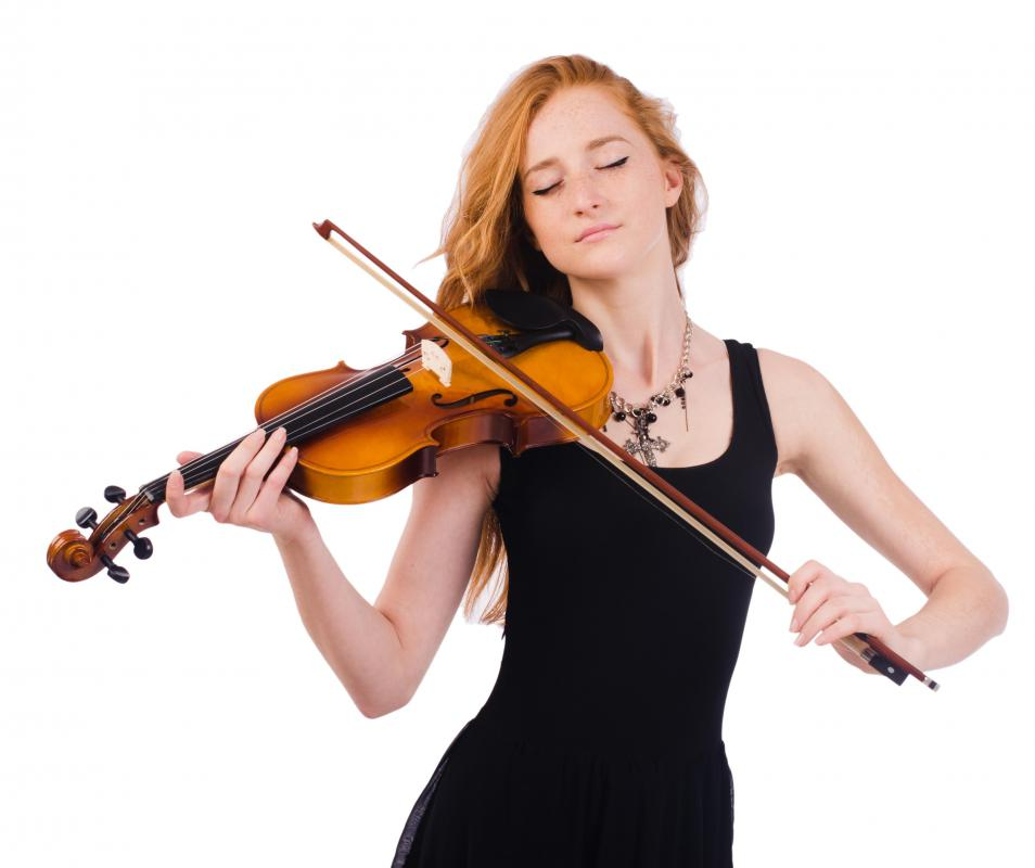 Violins are capable of playing continuous glissandi.