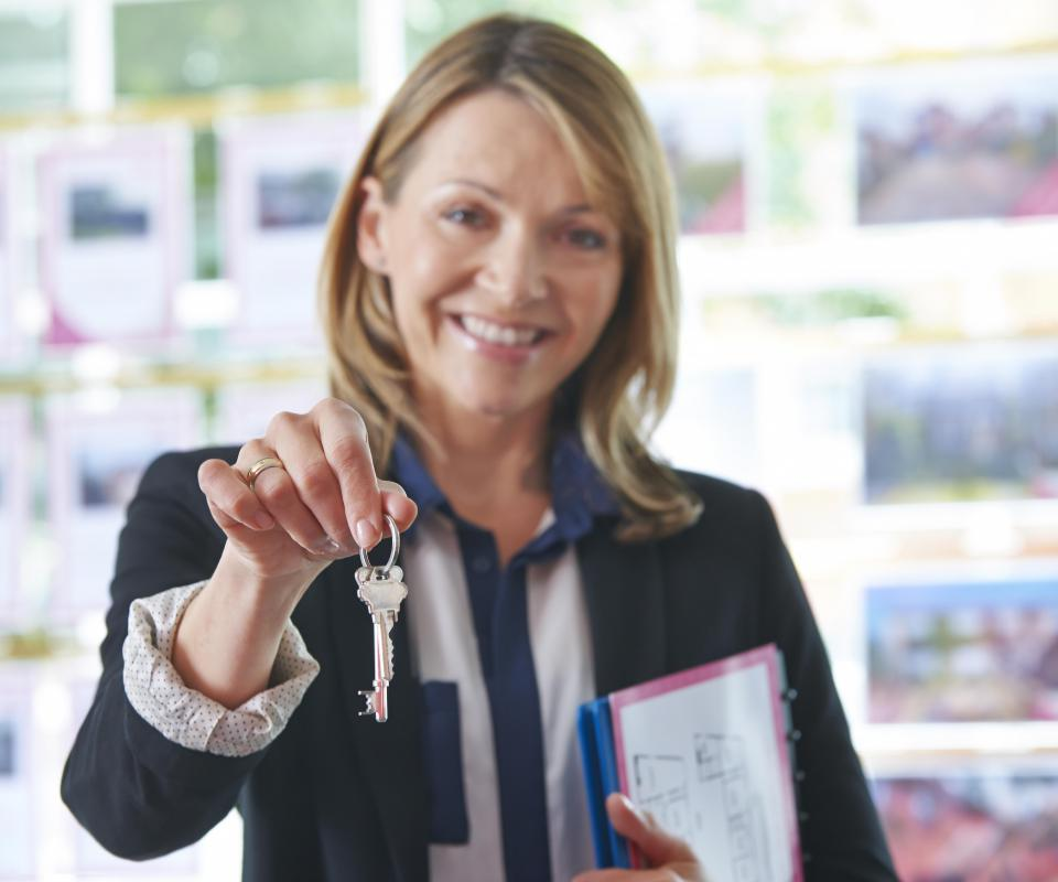 A relocation specialist will often began their career as a real estate agent, where they can gain experience in the real estate market.