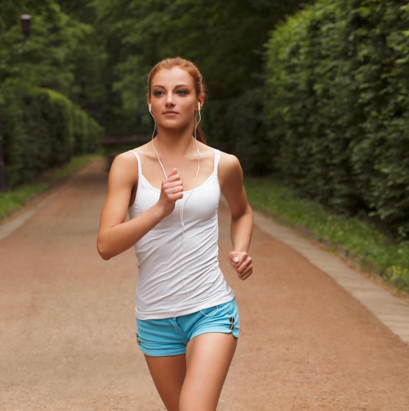 Jogging in place is not recommended as a substitute for distance jogging.