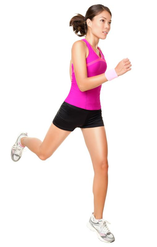 Runners can be prone to shin splints.