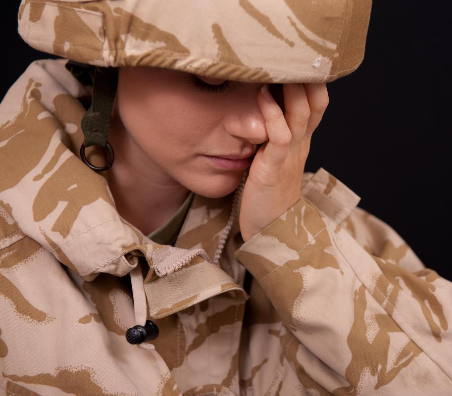 Exposure therapy may be appropriate treatment for a war veteran that suffers from PTSD.