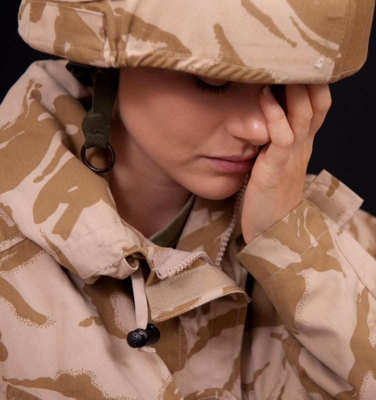 Anxiety is a major component of PTSD.