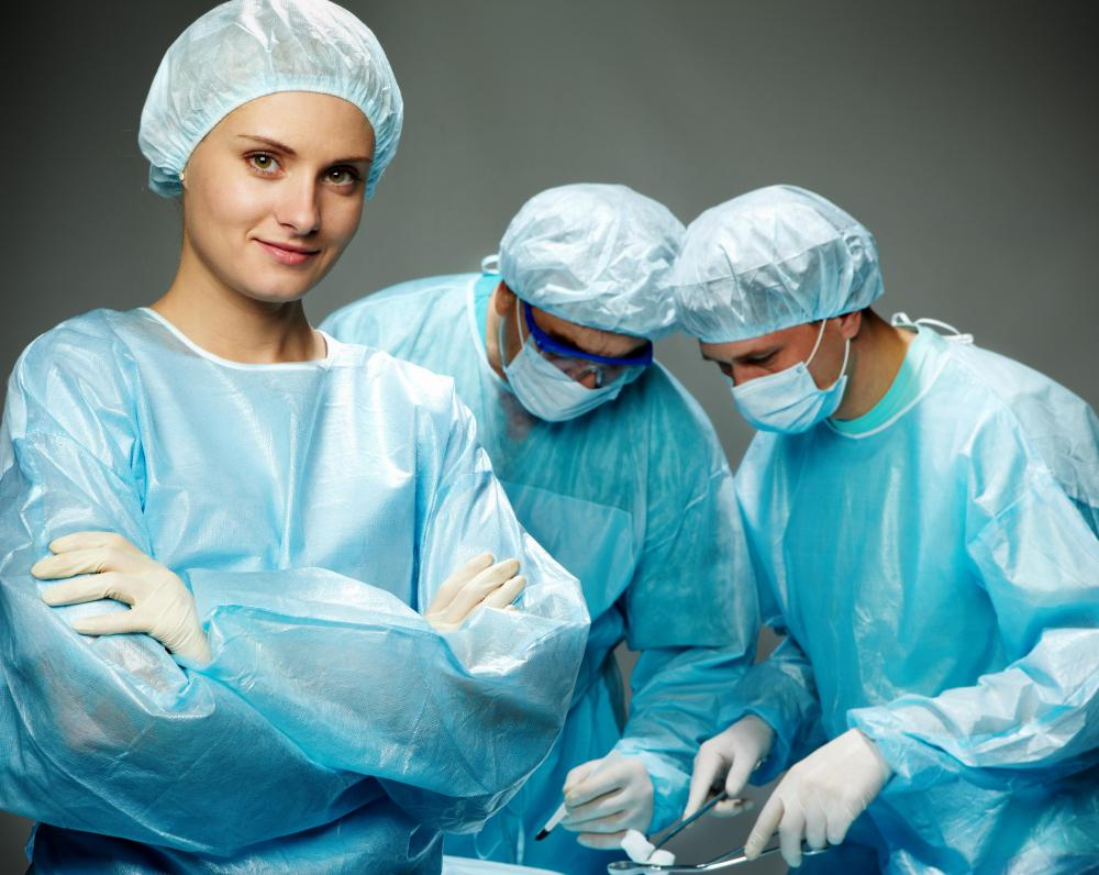 how do i become a scrub nurse? (with pictures), Human Body