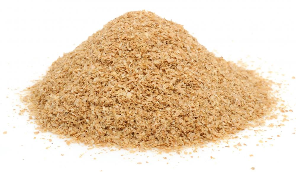 Wheat bran, which is included in many dog foods.