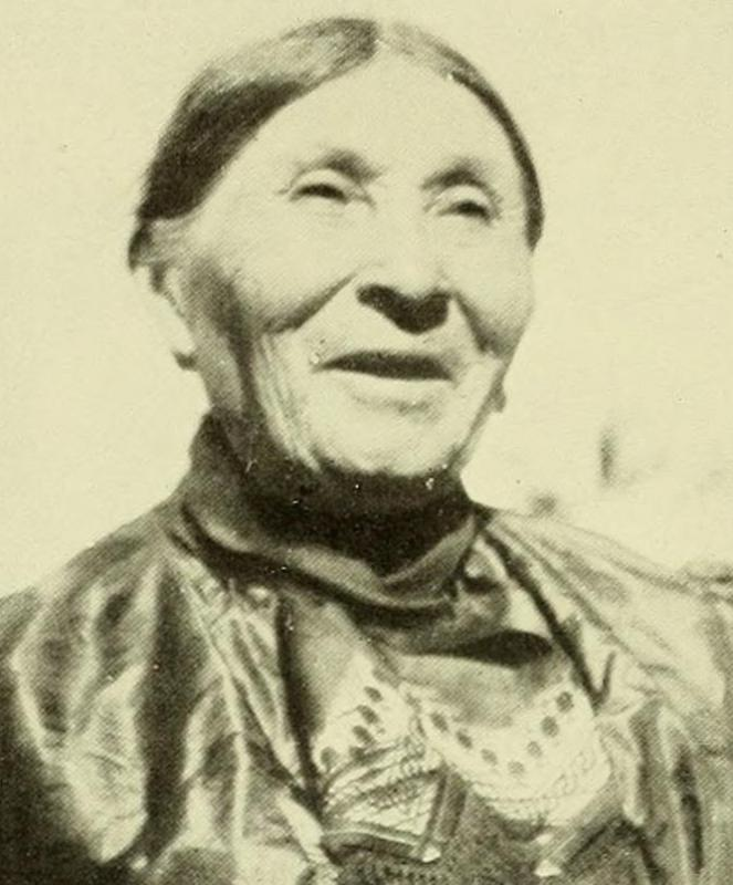 Fidelia Hoscott Fielding is credited with helping to preserve a language of the Mohegan tribe.