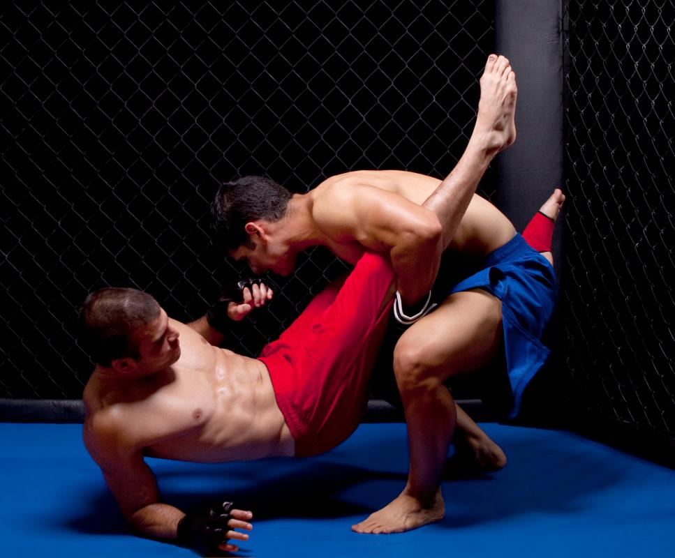 An MMA fighter must be skilled in the area of grappling, or holds and takedowns.