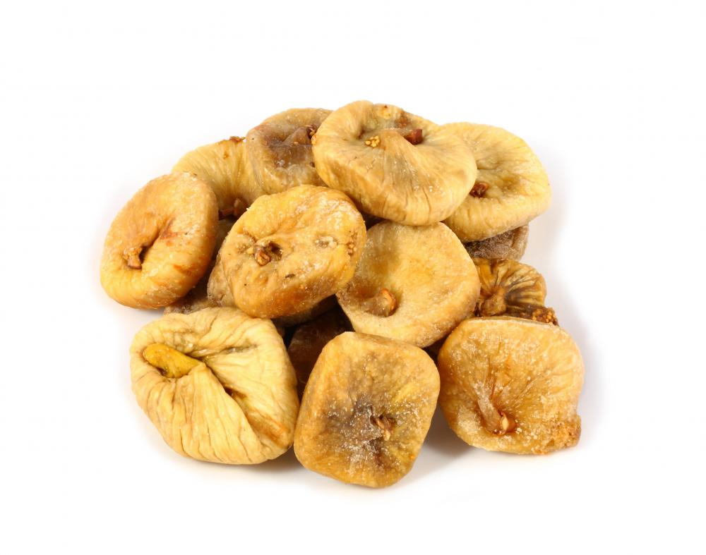 Dried figs.