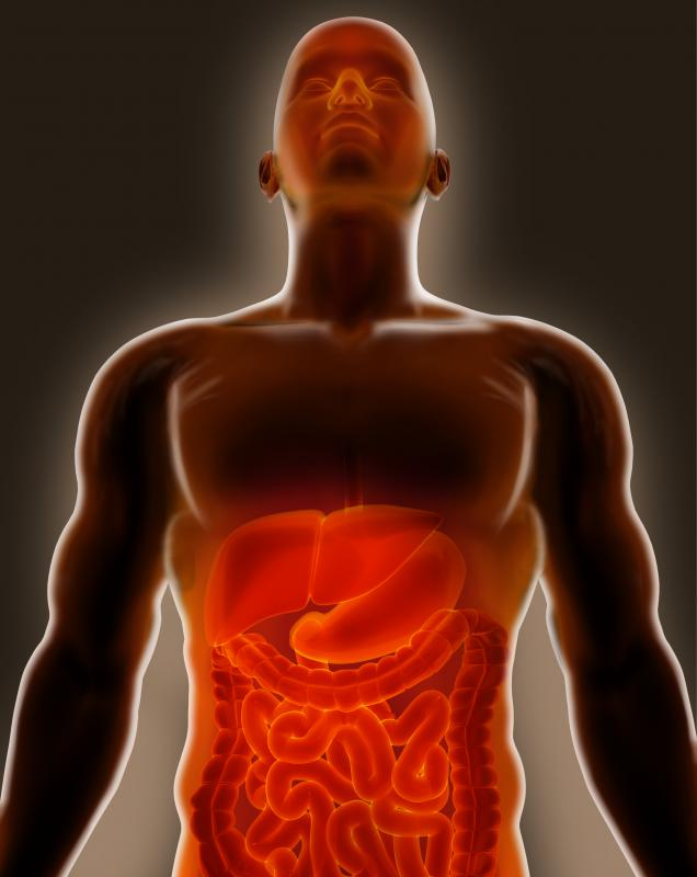 Intestinal symptoms can be minor, such a flatulence, or extremely serious, such as rectal bleeding.