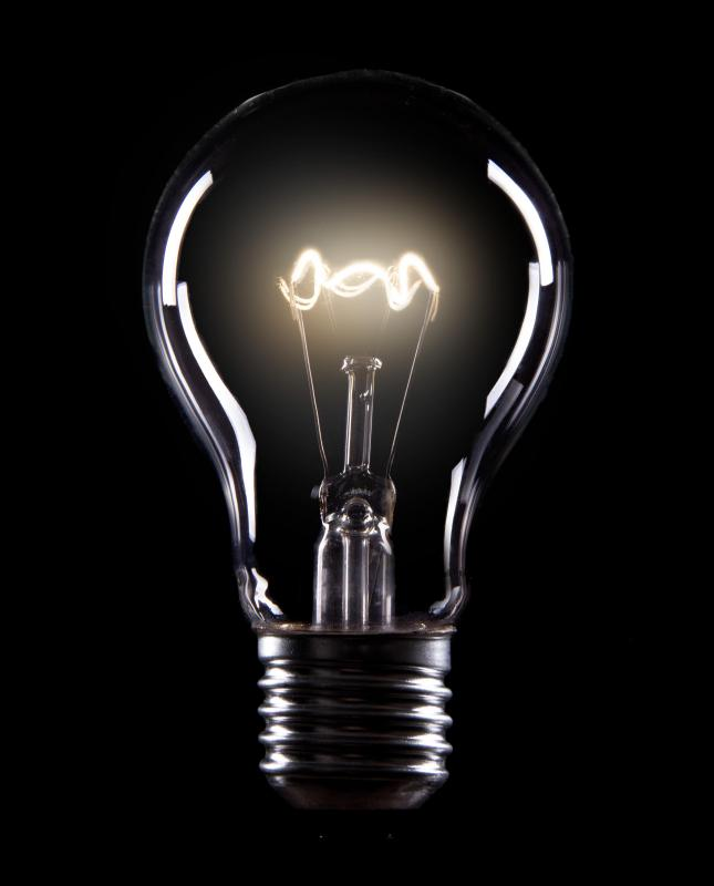 Tungsten is used as filament in incandescent lightbulbs.