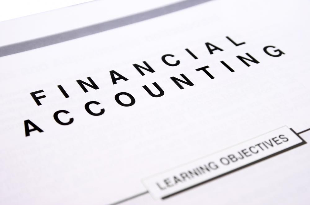 Financial report analysts often have an educational background in financial accounting.