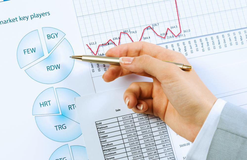 Statistical analysts often present their findings in the form of charts, graphs and tables.