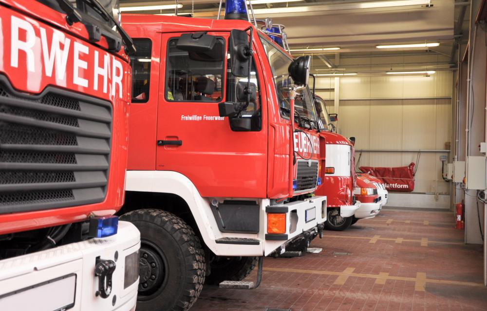 Fire stations house fire engines and other equipment needed to battle blazes.