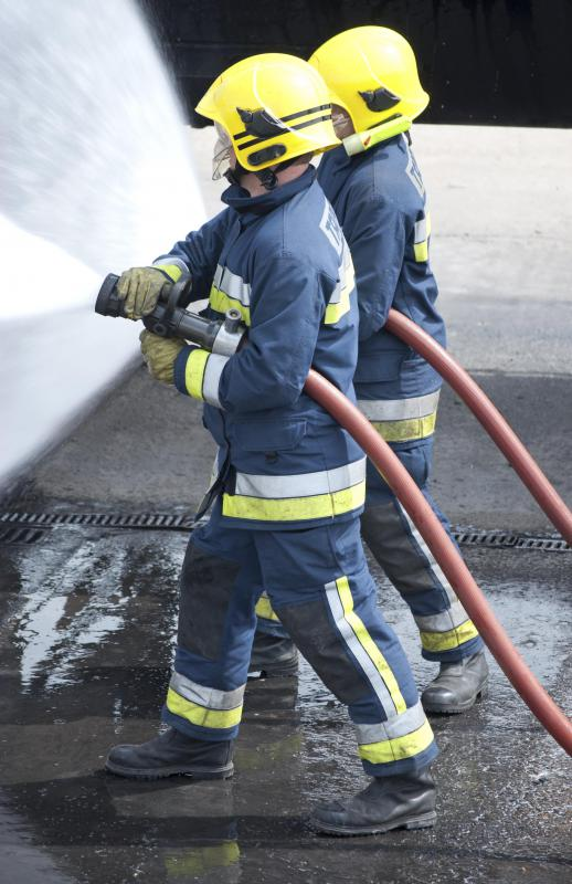 Having experience as a fire fighter can help you with fire warden training.