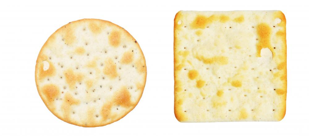 Crackers help settle the stomach.