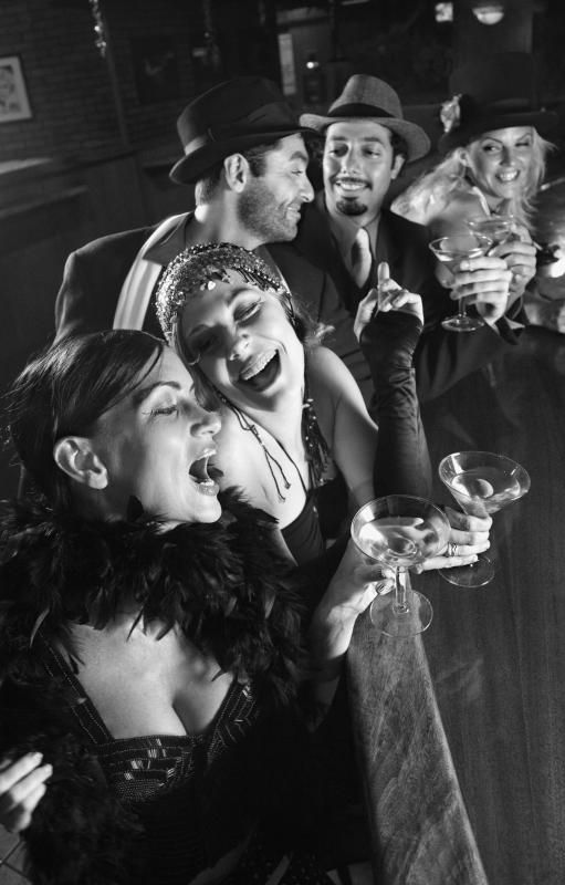 Many party-goers died during the 1920s from drinking bathtub gin.