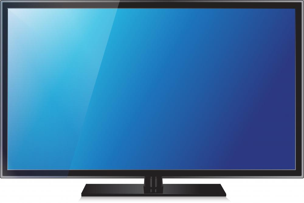 In general, flat screens have higher resolutions than older CRT TVs.