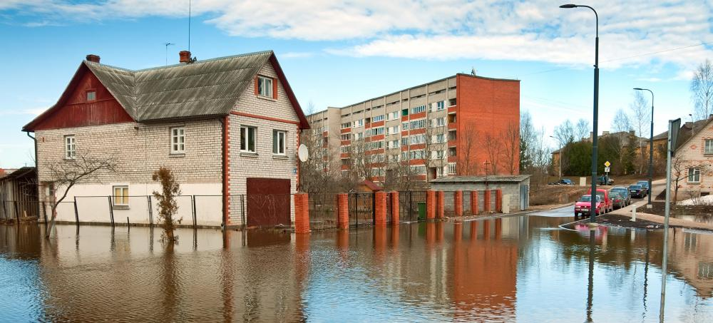 Flood insurance offers protection against damage from flooding.