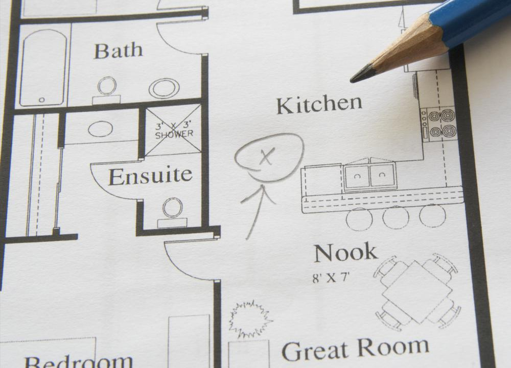 building plans often start out as simple floor plans - Planning An Ensuite
