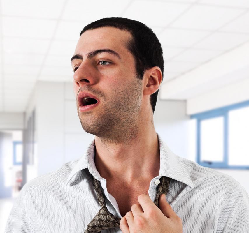 A testosterone deficiency may cause irritability and hot flashes in men.