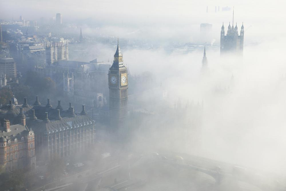 Fog is essentially clouds that form close to the ground.