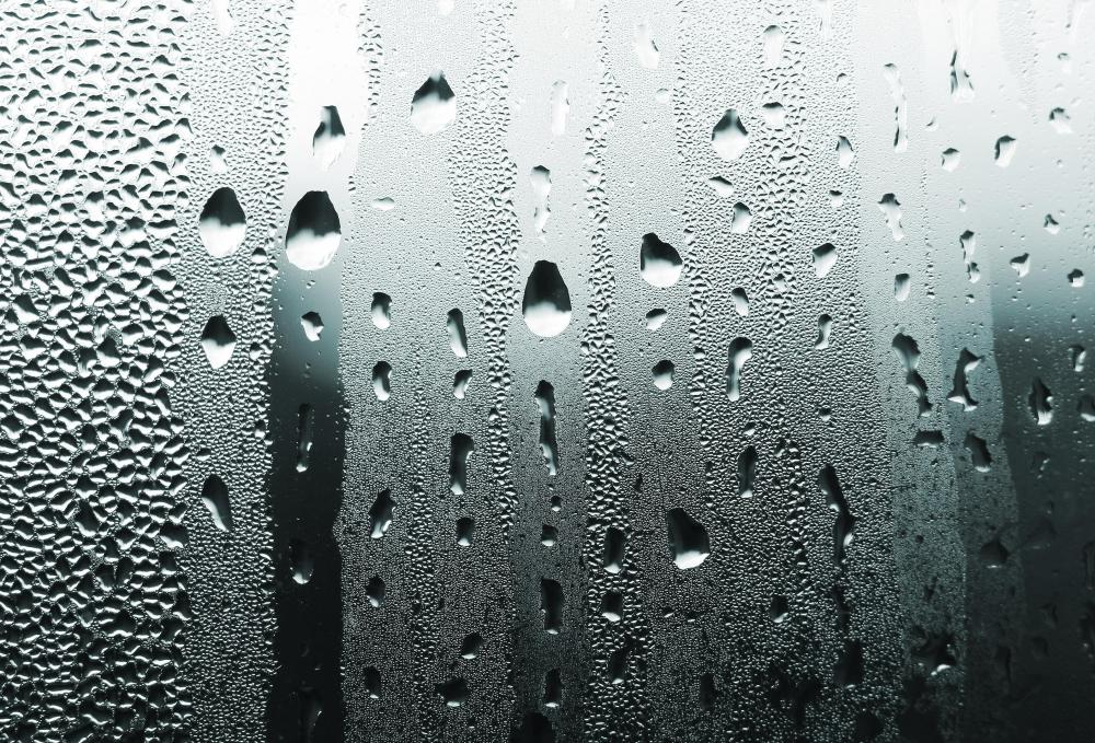 Humid air in a car leads to foggy windows.