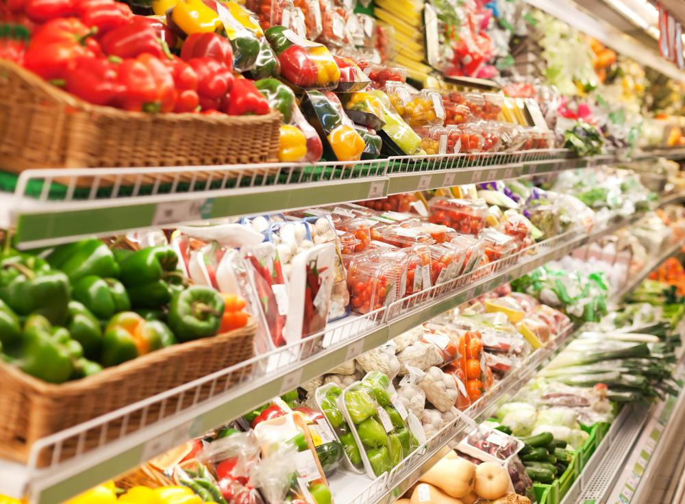 Grocery stores may discount fruits and vegetables that are not in perfect condition.
