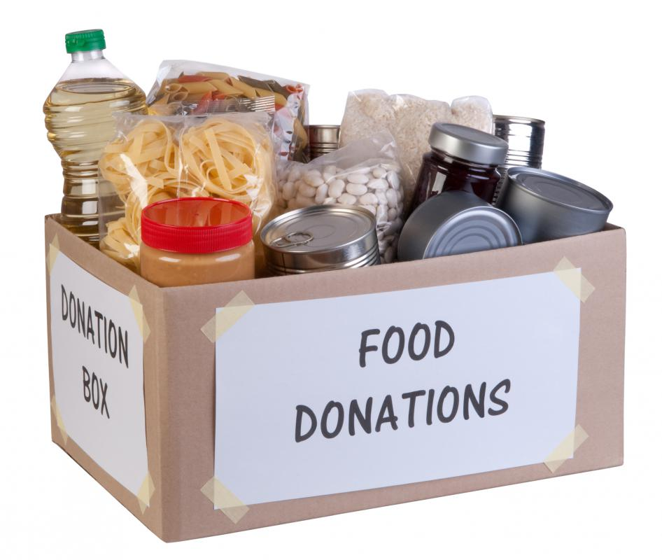 An example of a charitable organization could be one that provides food to the hungry in a community.